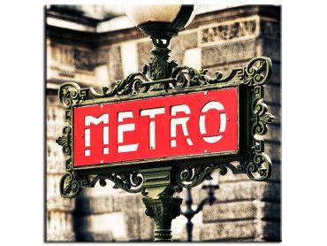 Tableau deco métro parisien