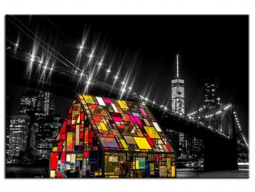Tableau New York colors of night