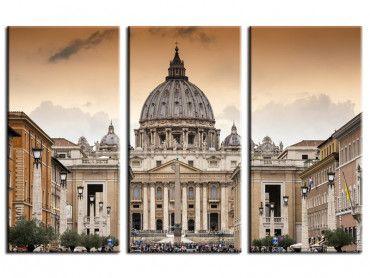 Tableau photo paysage Vatican Italie