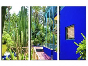 Tableau photo jardin Majorelle