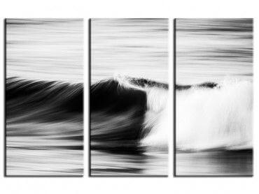Tableau noir et blanc les Estagnots Seignosse