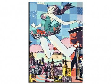 Tableau street art dancer pop art