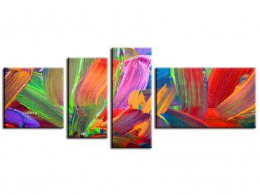 Tableau art abstrait Plumo