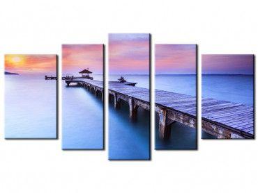 Tableau photo de paysage Le ponton