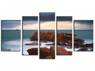 Tableau photo de paysages posée là...