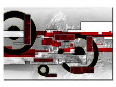 Tableau cadre moderne design abstrait