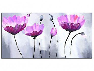 Tableau Fleurs Pas Chers En Alu Plexi Toile Imprimée Ou Peinte Hexoa