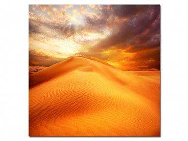 Tableau déco paysages au couleur du desert