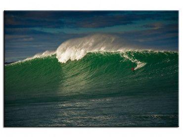 Tableau surf Belharra vague géante du Pays Basque
