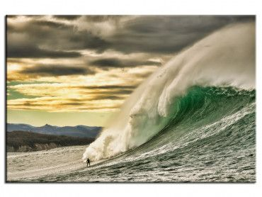 Tableau deco session surf Belharra