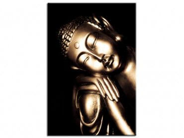 Tableau déco Bouddha sleeping