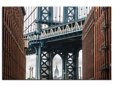 Tableau photo NYC Manhattan bridge