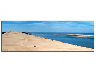 Tableau panorama design dune du pyla