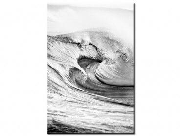 Tableau noir et blanc north shore oahu