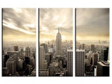 Tableau contemporain Manhattan