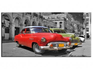 Tableau deco Colorful Havana cars