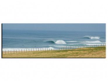 Tableau surf belle plage des landes