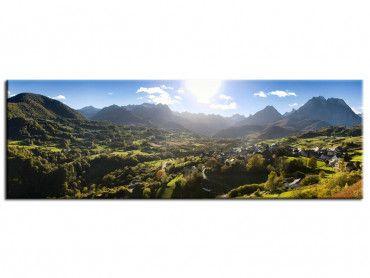Tableau photo paysages panorama sur le Pic d'Ansabère