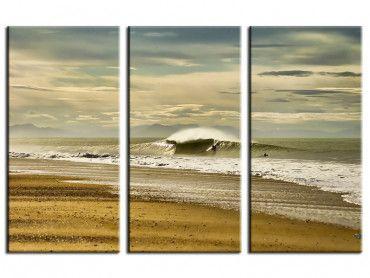 Tableau photo paysages surf dans les landes