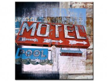 Tableau art contemporain motel