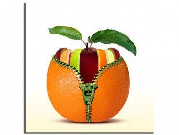 Tableau design fruits décoration cuisine