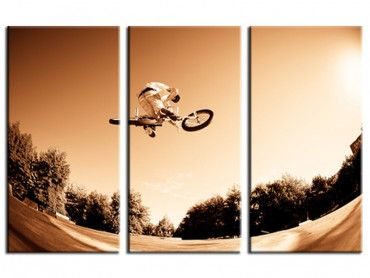 Tableau photo sport bmx