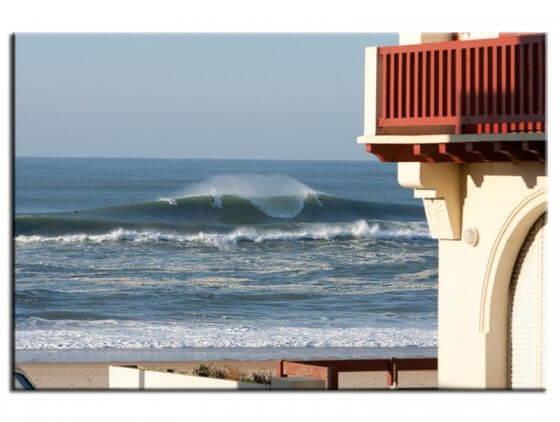Tableau déco murale moderne surf hossegor