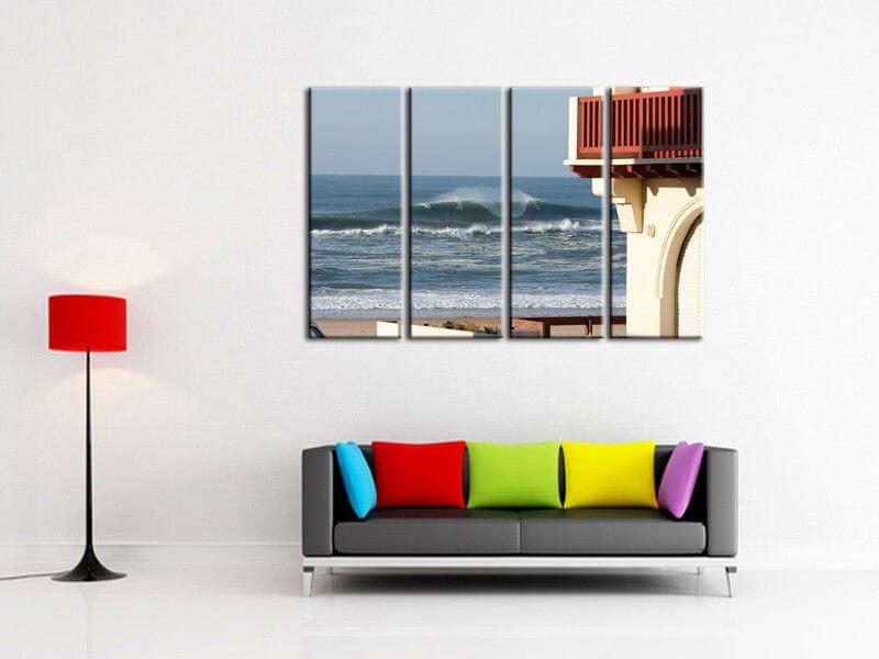 d coration murale pas ch re tableau moderne surf hossegor. Black Bedroom Furniture Sets. Home Design Ideas
