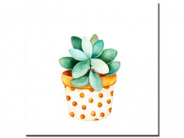 Tableau tropical plante grasse