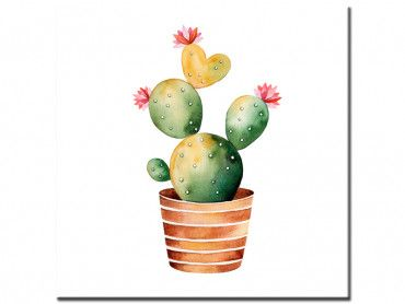 Tableau tropical cactus power