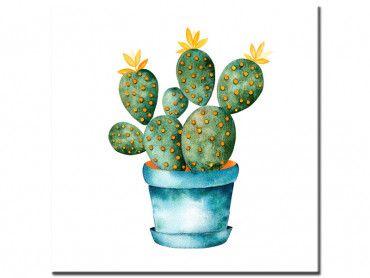 Tableau pot de cactus