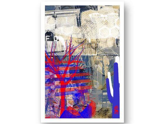 Cadre contemporain x ray vision