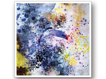 Cadre moderne toucan big bang