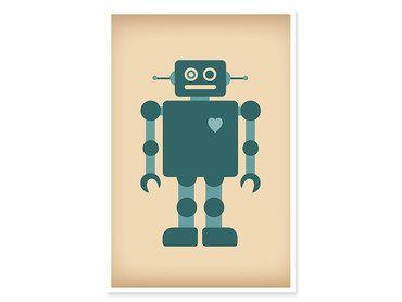Cadre enfant robot love