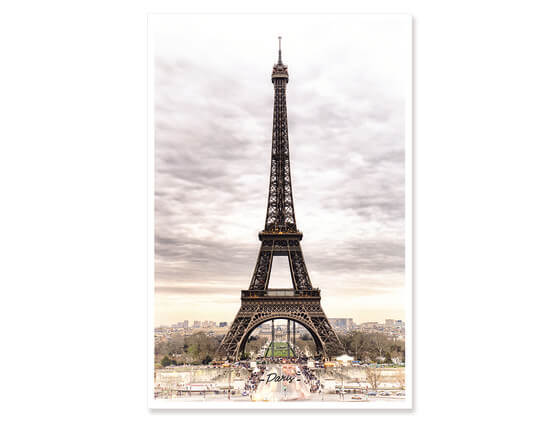 Poster Paris sublime Tour Eiffel