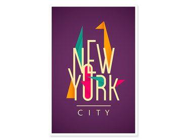 Cadre New York origami