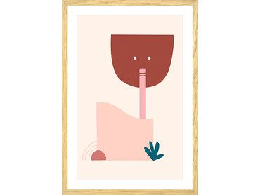 Cadre contemporain le buveur de cocktail