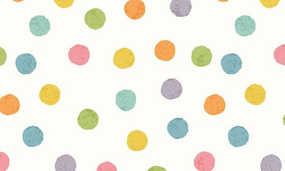 Vente papier peint à pois multicolores design et moderne