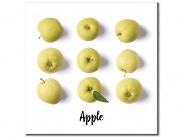 Tableau cuisine mangez des pommes