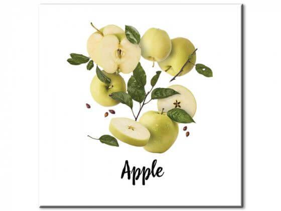 Tableau cuisine pommes en vrac