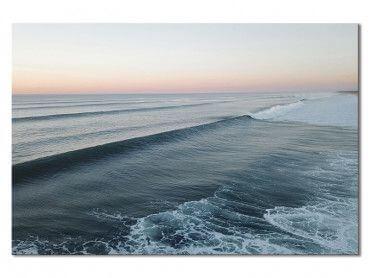 Tableau paysage surf sunset