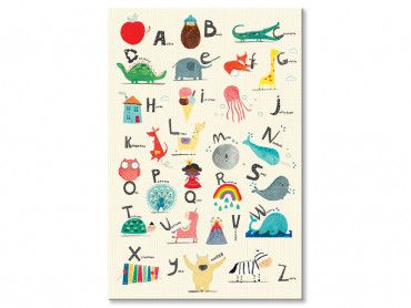 Tableau alphabet enfant