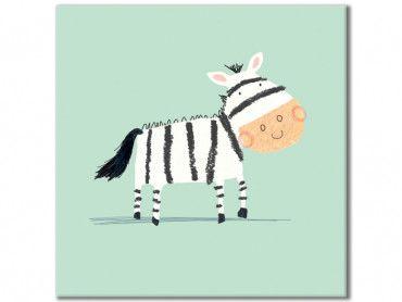 Tableau dessine moi un zebre