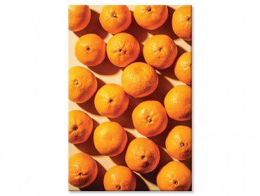 Tableau cuisine orange vitaminée