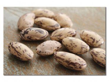 Tableau marron haricots secs