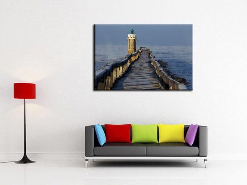 d coration murale moderne tableau paysage pas cher. Black Bedroom Furniture Sets. Home Design Ideas