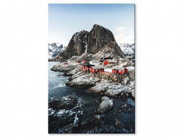 Tableau Rouge tradition sur Lofoten