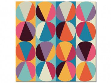 Tableau color cercles et triangles parfaits