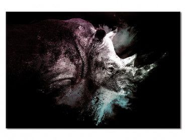 Tableau Wild Explosion rhinoceros