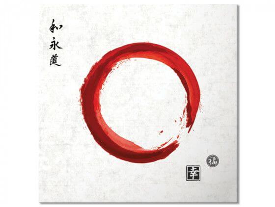 Tableau zen circle japonnais